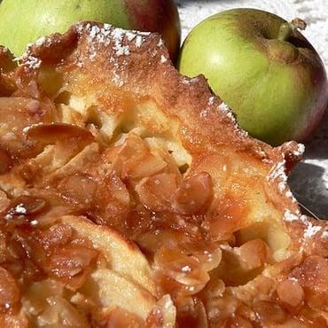Torta di mele e noci