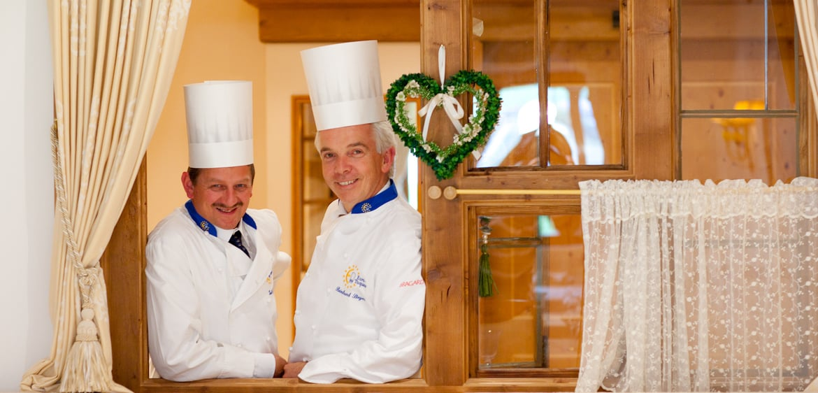 CUCINA GOURMET ALL'HOTEL MAJESTIC
