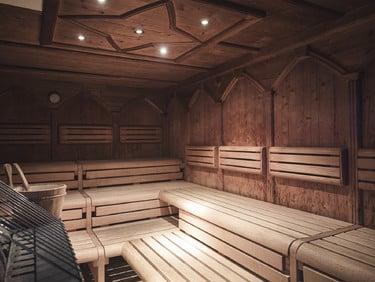 Sauna finlandese (90°C)