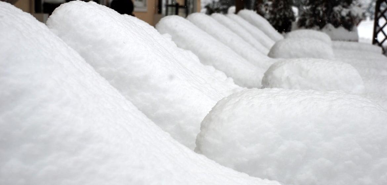 Schnee, Schnee & noch mehr Schnee ....